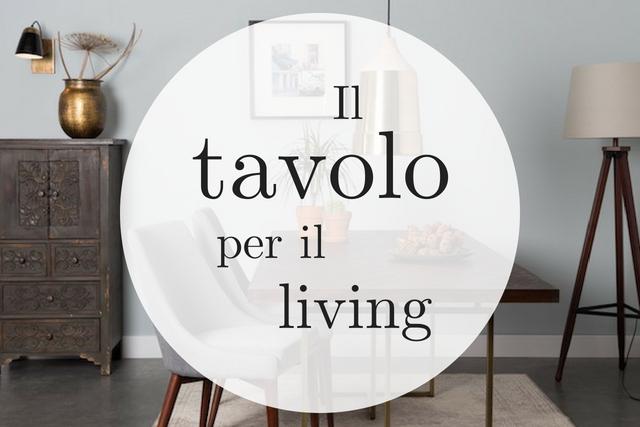Arredare Soggiorno Con Tavolo.Living Il Nostro Tavolo Con Lo Sconto Arredare Casa