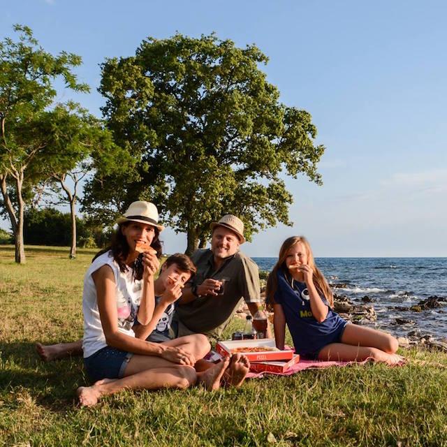 picnic al mare