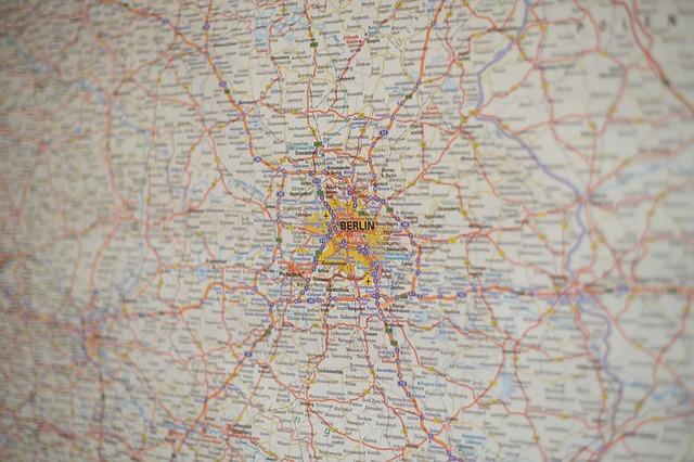 mappa Berlino