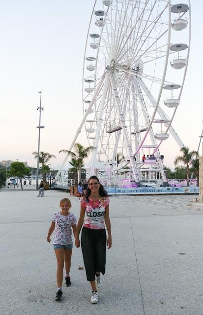 ruota panoramica porto Sntibes