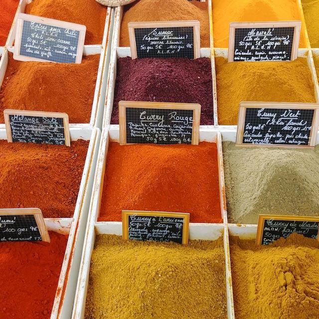 antibes mercato spezie