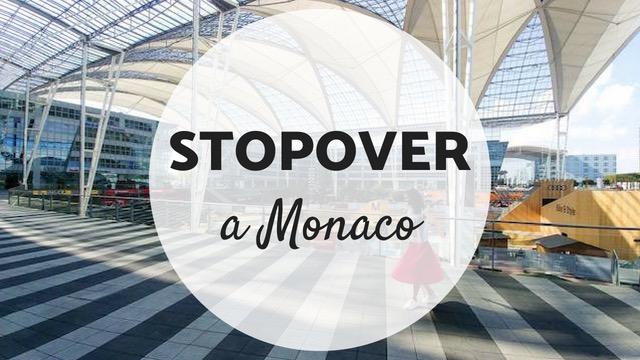 stopover aeroporto Monaco