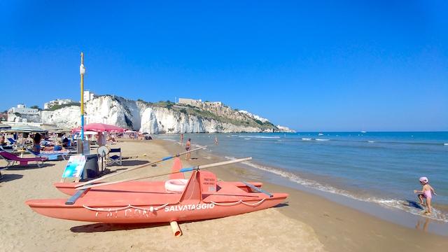 spiaggia Vieste