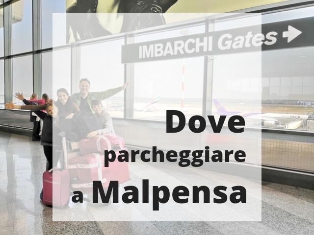 parcheggiare a Malpensa