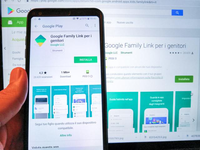 app family link