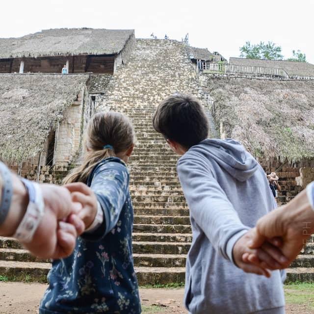 Ek Balam piramide