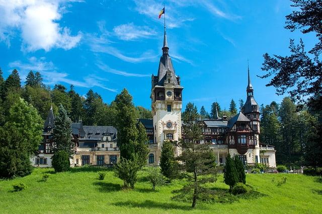 castello peles tour Transilvania