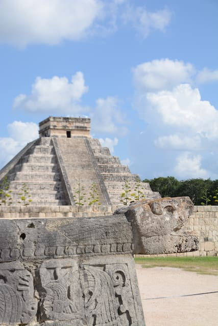 Chichen Itza piramire