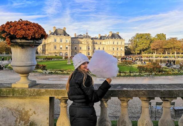 giardino Lussemburgo Parigi