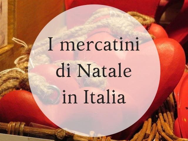 mercatini di Natale in Italia