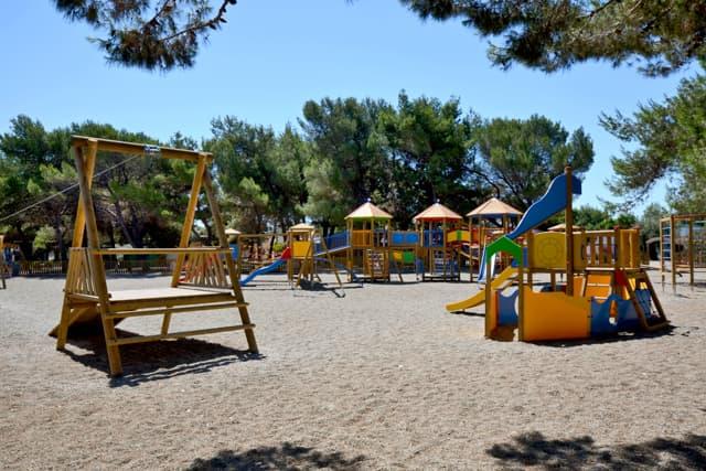 area giochi campeggio