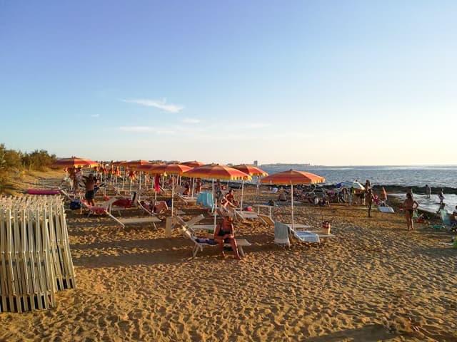 spiaggia campeggio Salento