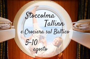 Stoccolma Tallin in crociera