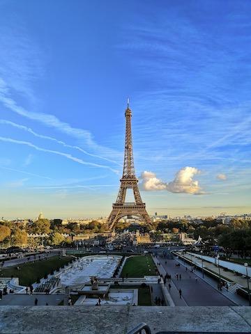 torre eiffel vacanza a Parigi