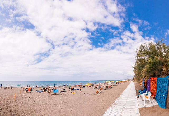 camping in Toscana spiaggia