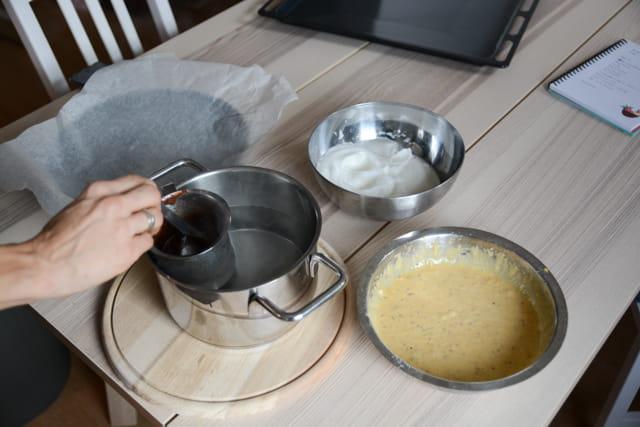 torta tenerina preparazione