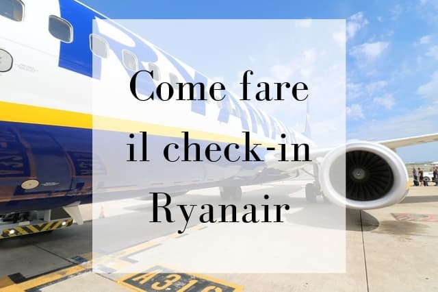 ryanair check in