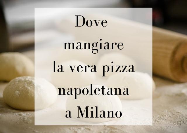 pizza napoletana Milano