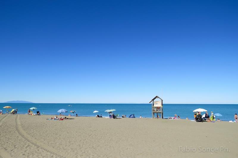 spiaggia per bambini Toscana