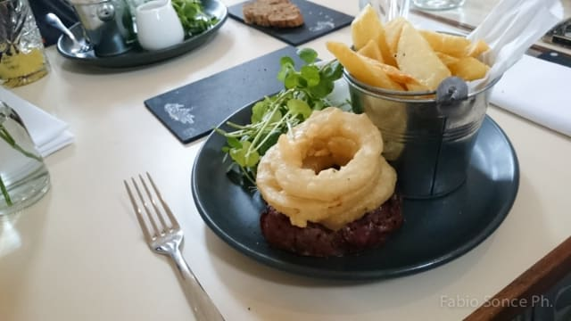 pranzo a Edimburgo
