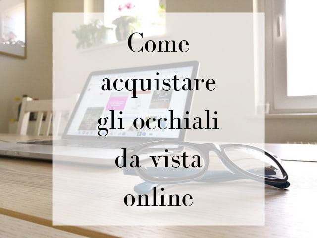 occhiali da vista online