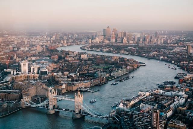 viaggi con bambini in Europa - Londra