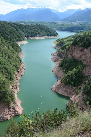 parco fluviale novella in Val di Non