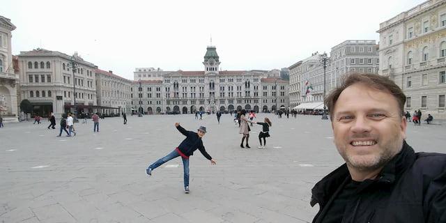 piazza unità Trieste weekend con bambini