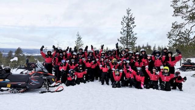 tour con bambini Lapponia Rovaniemi viaggi di gruppo