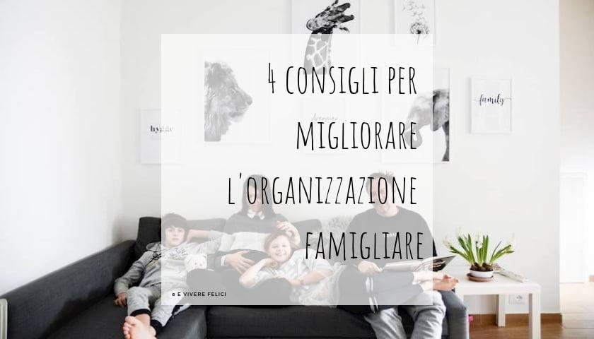 organizzazione familiare