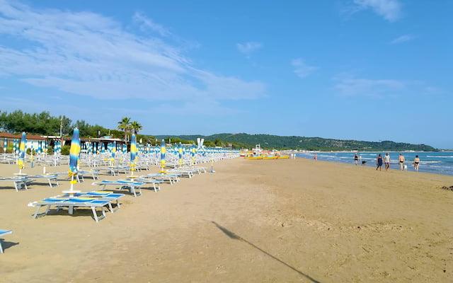 spiaggia gargano vieste