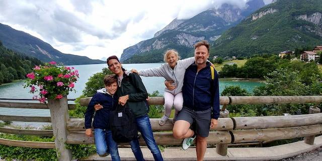 In famiglia a Molveno