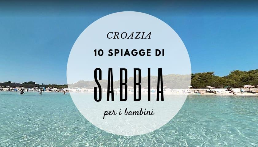 spiagge sabbia croazia