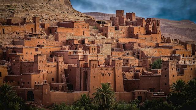 città berbere Marocco