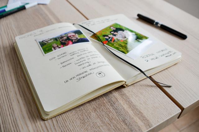 quaderno dei ricordi