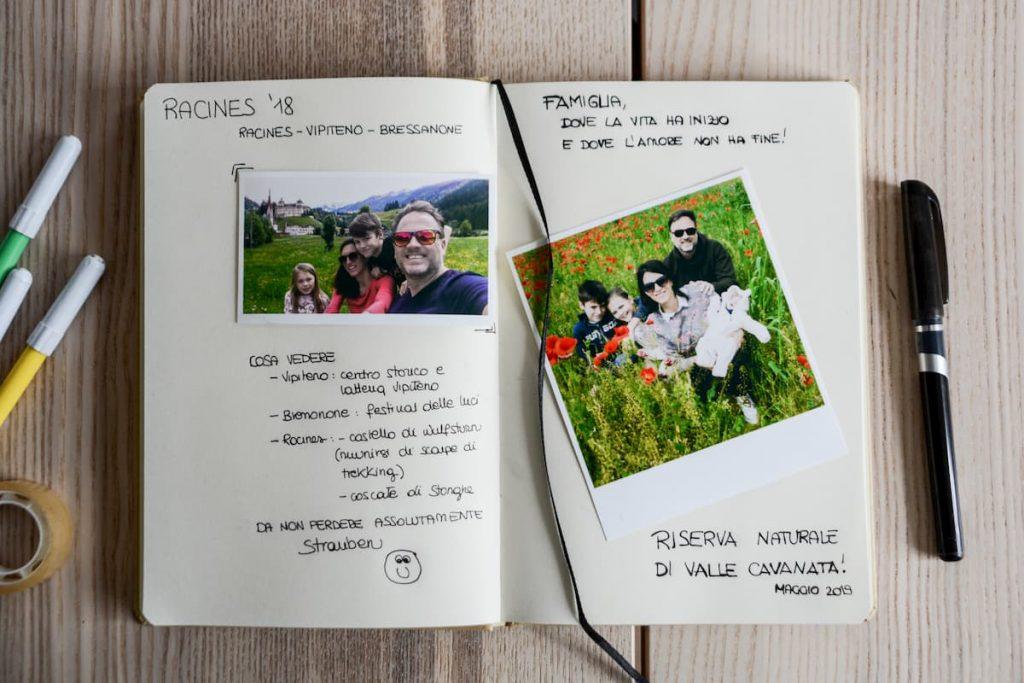 quaderno da viaggio