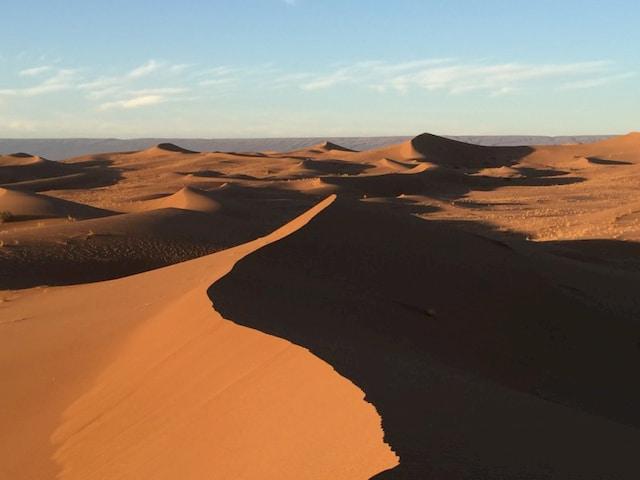 dune deserto durante il tour in Marocco