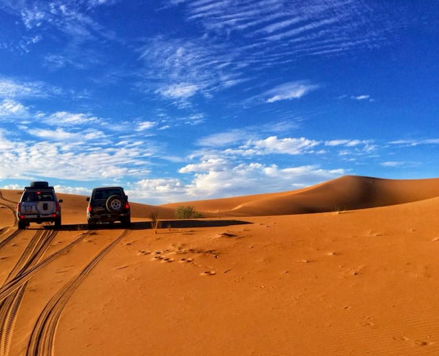tour in fuoristrada nel deserto