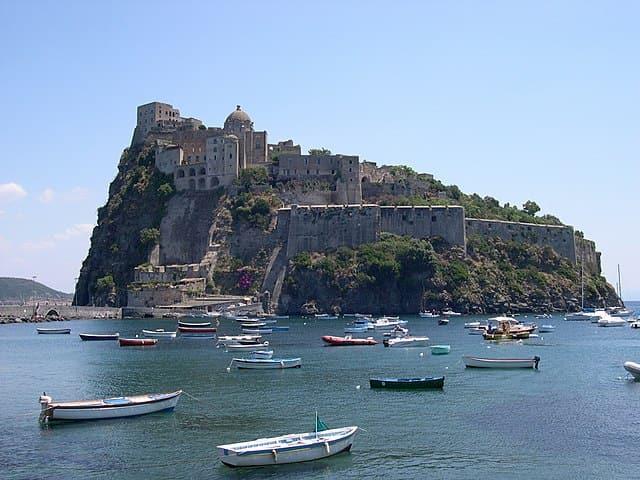 Castello aragonese a Ischia