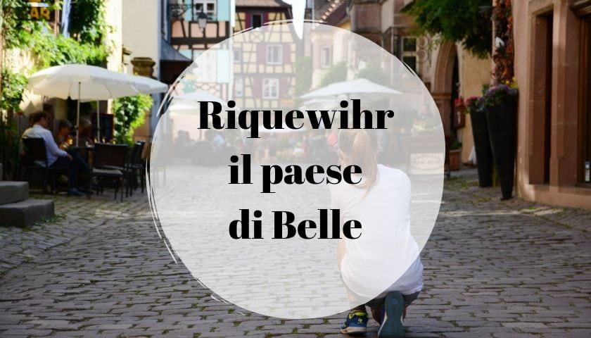 Riquewihr paese Belle