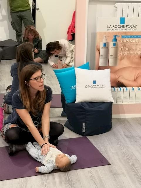 massaggi per neonati