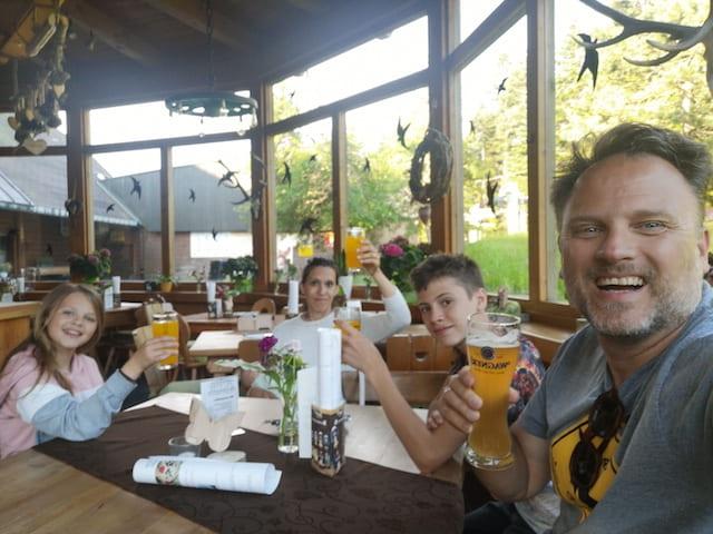 Tavolo ristorante Foresta Nera