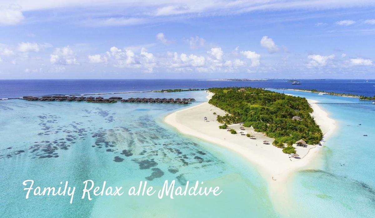 Family relax Maldive