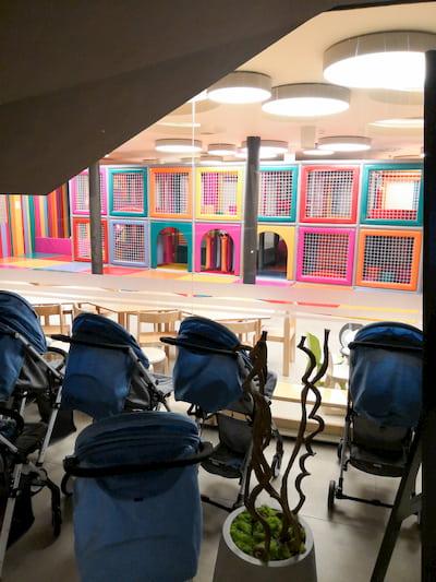 Area divertimento per bambini alle terme di Olimia