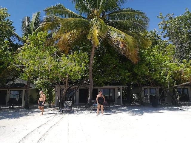 alloggio Maldive resort