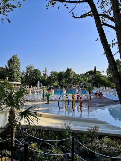 spray park piscine altomincio