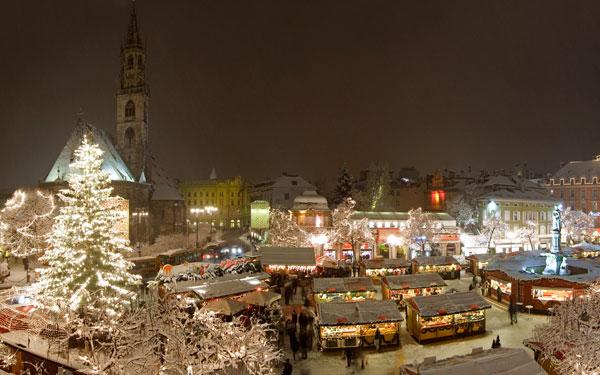 Neve mercatino Bolzano