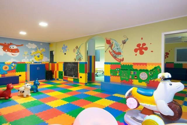 sala giochi in hotel montagna Andalo