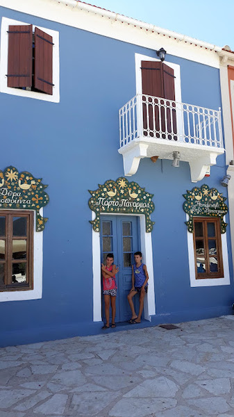 edificio blu Fiskardo