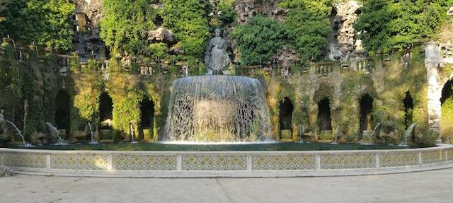 Villa d'Este le fontane